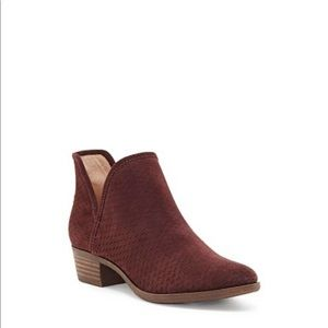 Brand new Lucky Brand Baley Bootie, size 9.5 wide